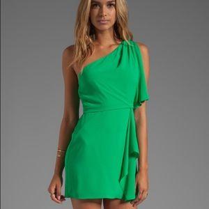 BCBG green beautiful dress